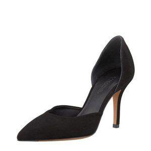 Vince Celeste D'Orsay Black Suede Heels Size 6